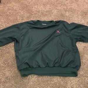 Ralph Polo Lauren Fleece Golf Pullover